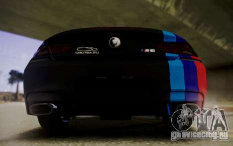BMW M6 Cabrio для GTA San Andreas вид справа