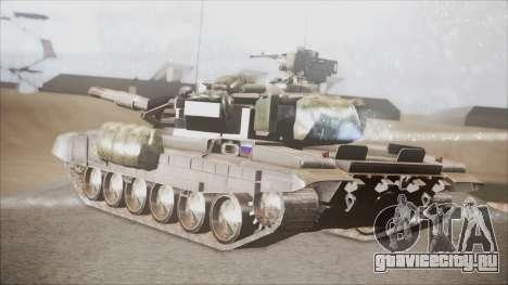 T-90A BF4 для GTA San Andreas вид слева