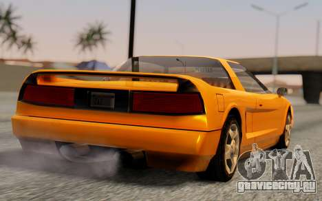 Infernus Hamann Edition Backup Standart для GTA San Andreas вид слева