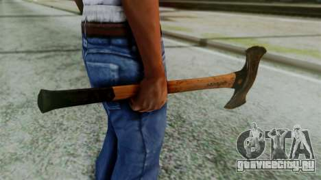 Doubleaxe from Silent Hill Downpour для GTA San Andreas второй скриншот
