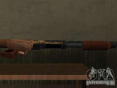 GTA 5 Sawed-Off Shotgun для GTA San Andreas второй скриншот
