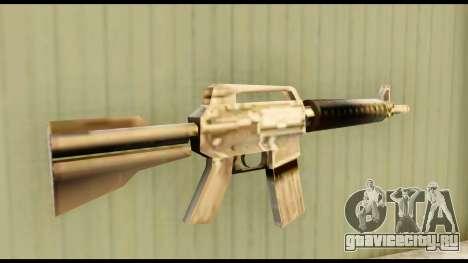 M4 Fixed для GTA San Andreas второй скриншот