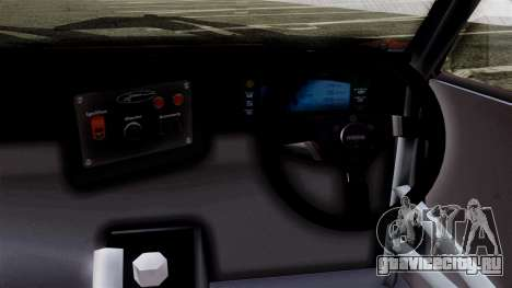 Toyota AE86C для GTA San Andreas вид сзади слева