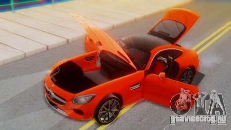 Mercedes-Benz SLS AMG GT для GTA San Andreas вид сбоку