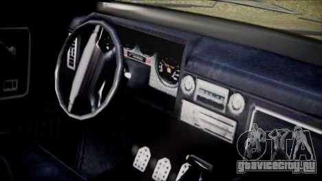 GTA 5 Vapid Slamvan IVF для GTA San Andreas вид справа