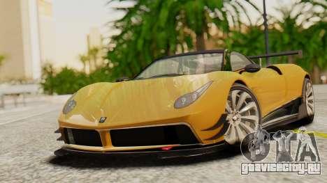 Pegassi Osyra Extra 2 для GTA San Andreas