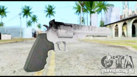 Desert Eagle from Resident Evil 6 для GTA San Andreas второй скриншот