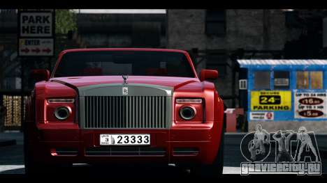 Rolls-Royce Phantom 2009 Coupe v1.0 для GTA 4