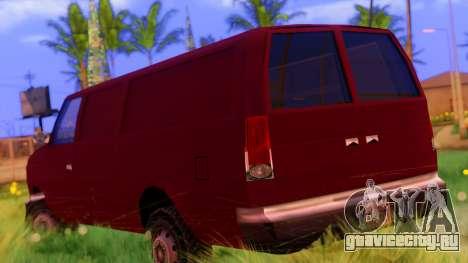 Ambush Van для GTA San Andreas вид слева