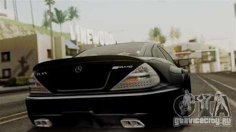 Mercedes-Benz SL65 E-Tuning для GTA San Andreas вид слева