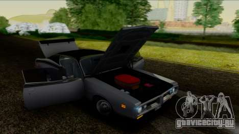 Dodge Charger Super Bee 426 Hemi (WS23) 1971 IVF для GTA San Andreas вид изнутри