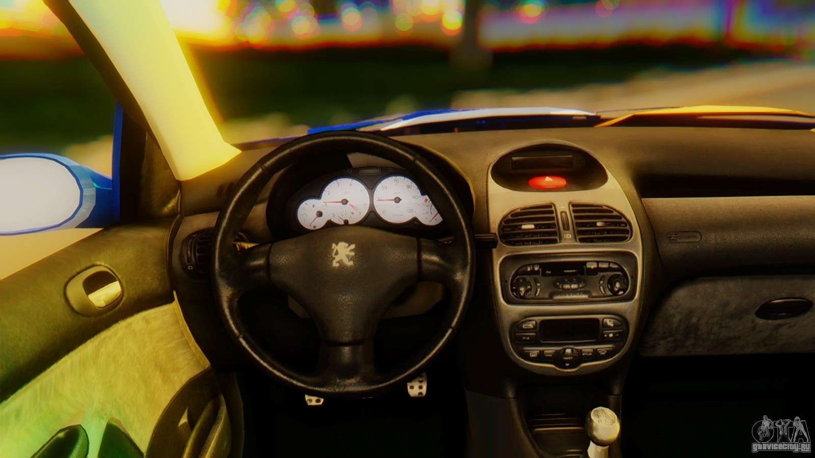 Peugeot 206 Full Tuning для GTA San Andreas