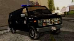 Chevrolet Chevy Van G20 Paraguay Police для GTA San Andreas