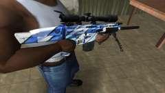 Mount Sniper Rifle для GTA San Andreas
