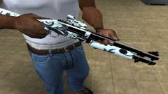White Shotgun для GTA San Andreas