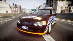 Ford Falcon BA XR8 Highway Patrol [ELS] для GTA 4