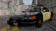 Ford Crown Victoria LSPD для GTA San Andreas
