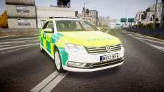 Volkswagen Passat B7 North West Ambulance [ELS]
