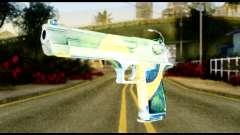 Brasileiro Desert Eagle для GTA San Andreas