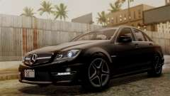 Mercedes-Benz C63 AMG 2015 Edition One для GTA San Andreas