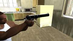 Black Cool Deagle для GTA San Andreas