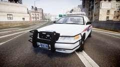 Ford Crown Victoria Bohan Police [ELS] для GTA 4