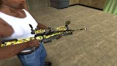 Cub Sniper Rifle для GTA San Andreas