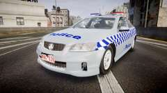 Holden Commodore Omega Victoria Police [ELS] для GTA 4