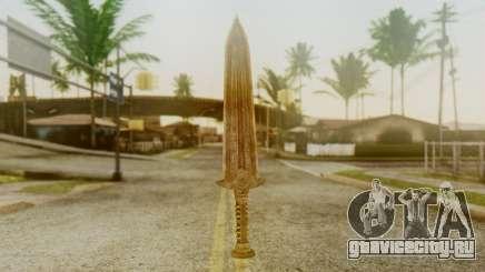 Dwarven Dagger для GTA San Andreas