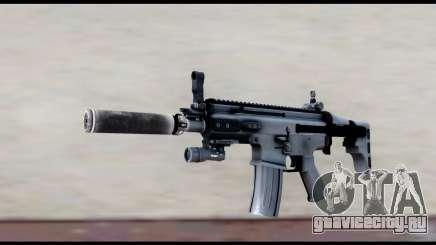 MK16 PDW Advanced Quality v1 для GTA San Andreas