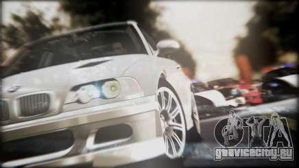 BMW M3 GTR Street Edition для GTA San Andreas