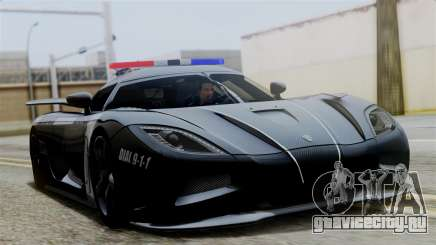 NFS Rivals Koenigsegg Agera R v3.0 для GTA San Andreas
