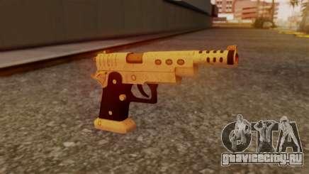 Chrome Hammer Pistol для GTA San Andreas