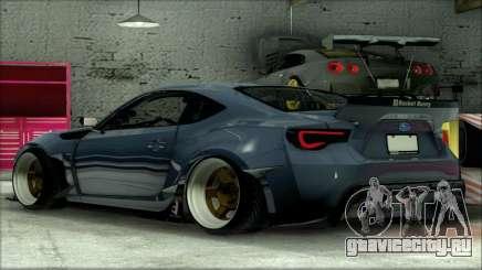 Subary BRZ Rocket Bunny для GTA San Andreas