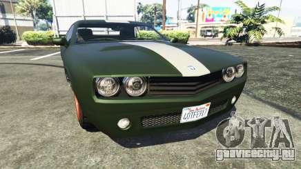 Bravado Gauntlet Dodge Challenger для GTA 5