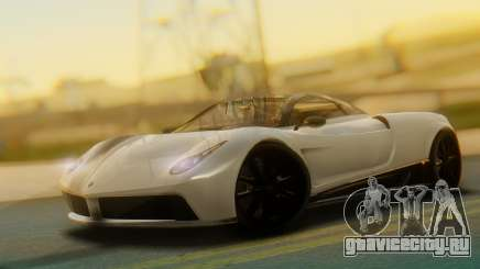 GTA 5 Pegassi Osiris IVF для GTA San Andreas