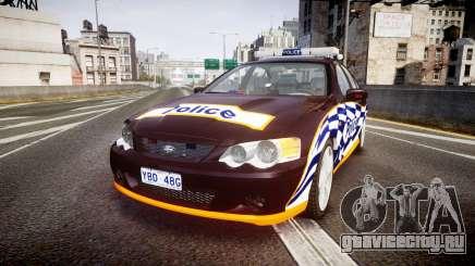 Ford Falcon BA XR8 Highway Patrol [ELS] для GTA 4