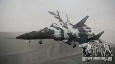 SU-47 Berkut Grabacr Ace Combat 5 для GTA San Andreas