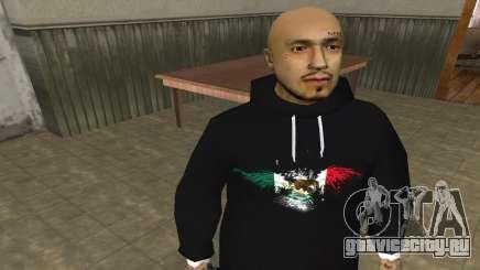 Rifa Skin First для GTA San Andreas