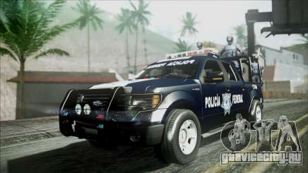 Ford Pickup Policia Federal для GTA San Andreas