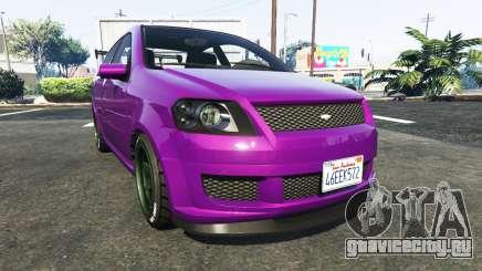 Declasse Asea Chevrolet Aveo для GTA 5