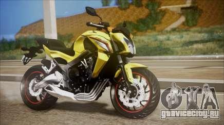 Honda CB650F Amarela для GTA San Andreas