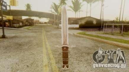 Iron Dagger для GTA San Andreas