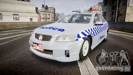 Holden Commodore Omega Victoria Police [ELS] для GTA 4