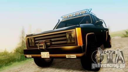 FBI Rancher Offroad для GTA San Andreas