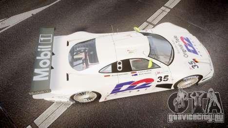 Mercedes-Benz CLK LM 1998 для GTA 4 вид справа