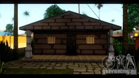 Новые текстуры домов по всему Гроув Стрит для GTA San Andreas третий скриншот