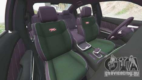 Dodge Charger RT 2015 v0.5 для GTA 5 вид спереди справа