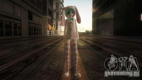 Miku Bunny для GTA San Andreas второй скриншот