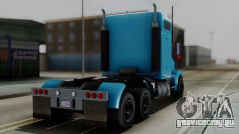 GTA 5 MTL Packer Trainer для GTA San Andreas вид слева